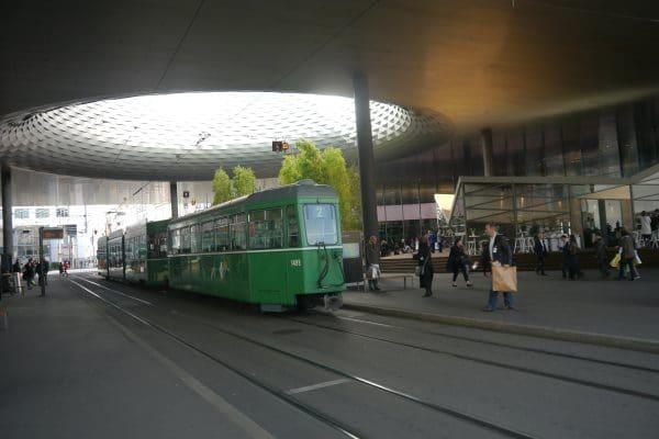 Salon de Baselworld le tram