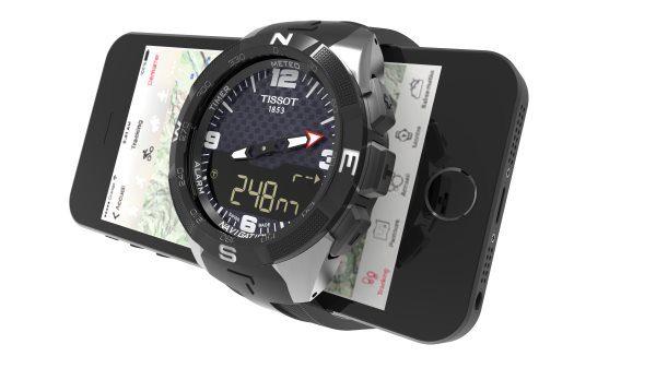 Tissot Smart Touch et smartphone
