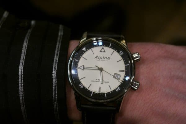 Alpina Seastrong Diver Heritage version bicolore
