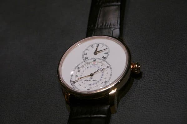 Jaquet Droz Dual Time 2016 or rouge