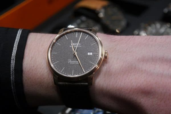 Mido Baroncelli Heritage version anthracite