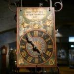 Vielle horloge à cadran