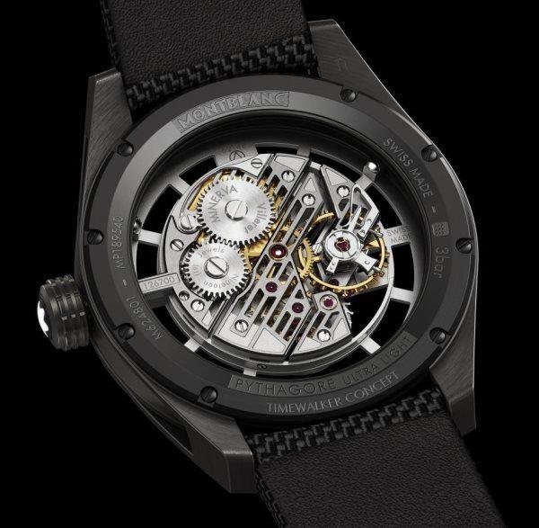 MontBlanc TimeWalker Pythagore UltraLight Concept fond