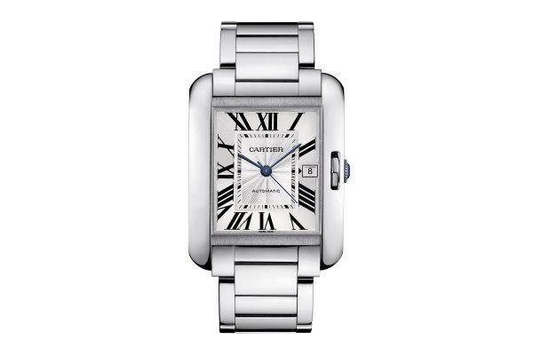 montre Cartier Tank Anglaise