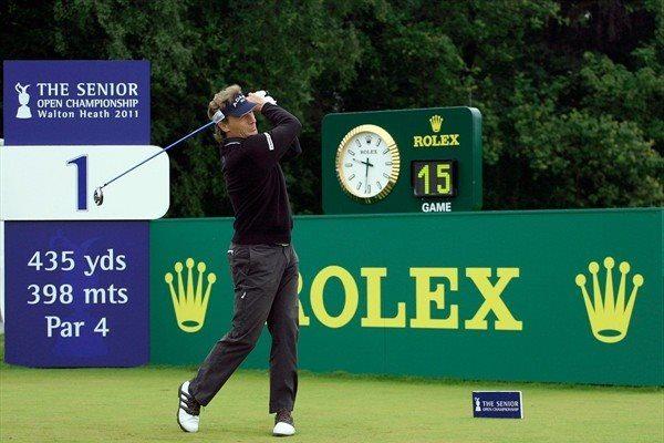 Rolex et le sponsoring dans le golf
