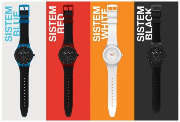 Gamme Swatch Sistem51