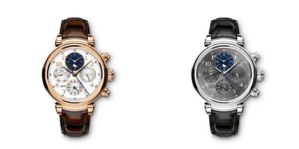 IWC Da Vinci Chronographe calendrier perpétuel