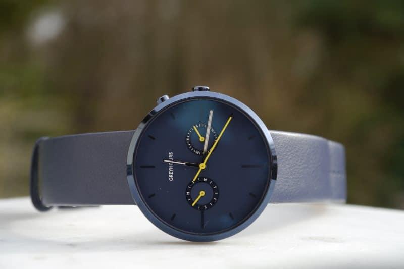 Montre Greyhours bleu
