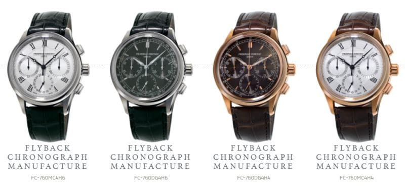 Gamme Chronograph Manufacture Flyback FC