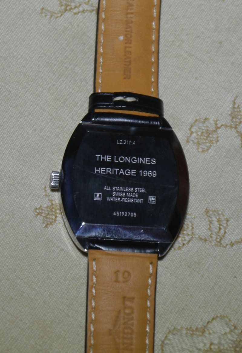 The Longines Heritage 1969
