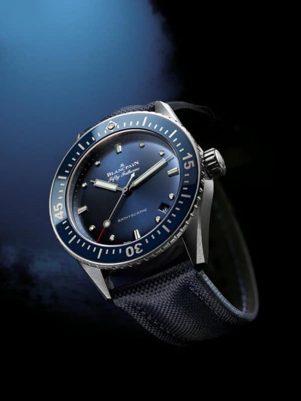 Blancpain Bathscaphe Fifty Fathoms