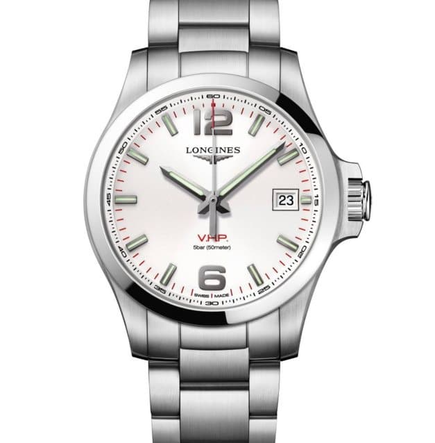 Longines Conquest VHP blanc