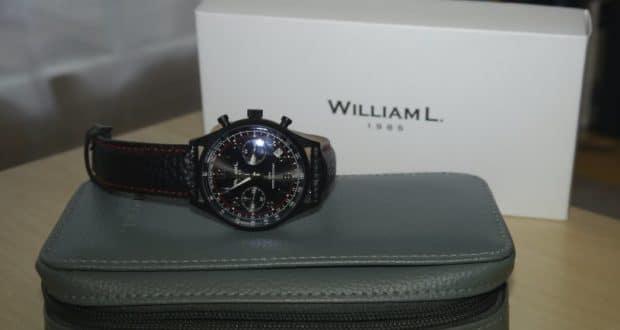 William L 1985 Chronograph