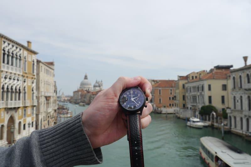 William L 1985 Chronograph Vintage Style Venise