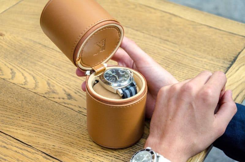 Rangement pour montre et coffret de voyage pour garde temps