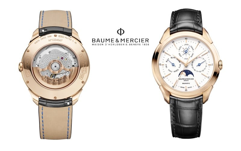 Baume et Mercier Clifton Baumatic M0A10470 QP perpetual calendar