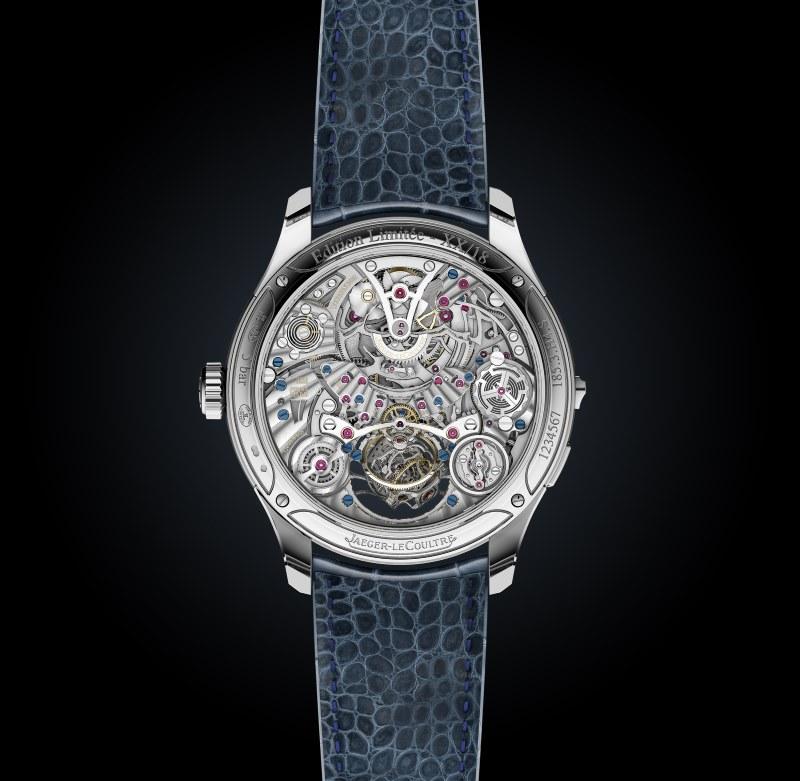 Jaeger Lecoultre Master Grande Tradition Gyrotourbillon Westminster Perpétuel fond