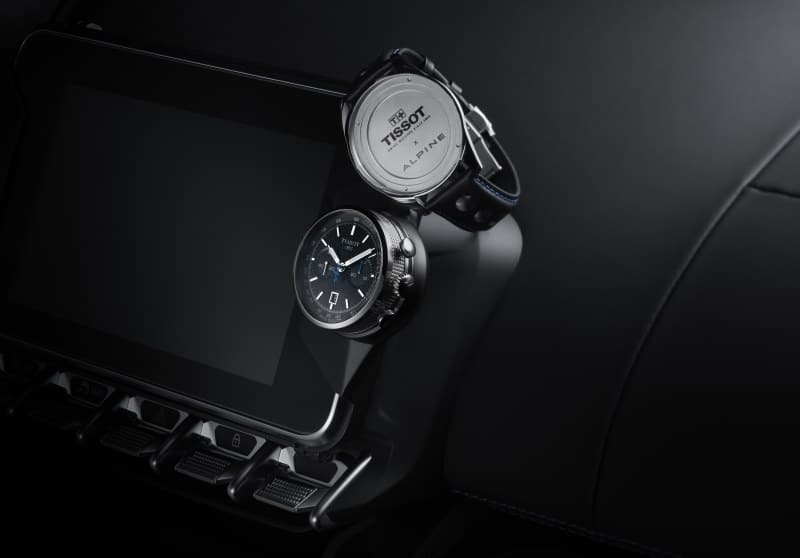 Tissot Alpine On Board Automatic sur l'Alpine A110