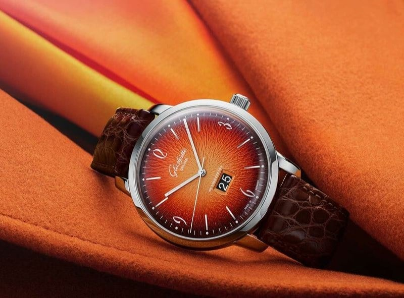 Montre Glashuette Original Sixties Panorama Date adjusted