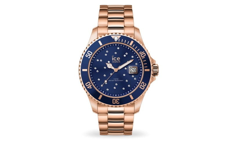 Ice-Watch Steel Blue Cosmos Rose Gold M 016774