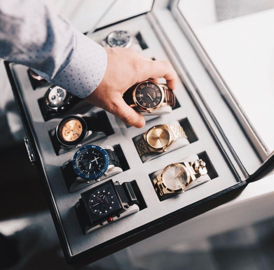boite de rangement de montre