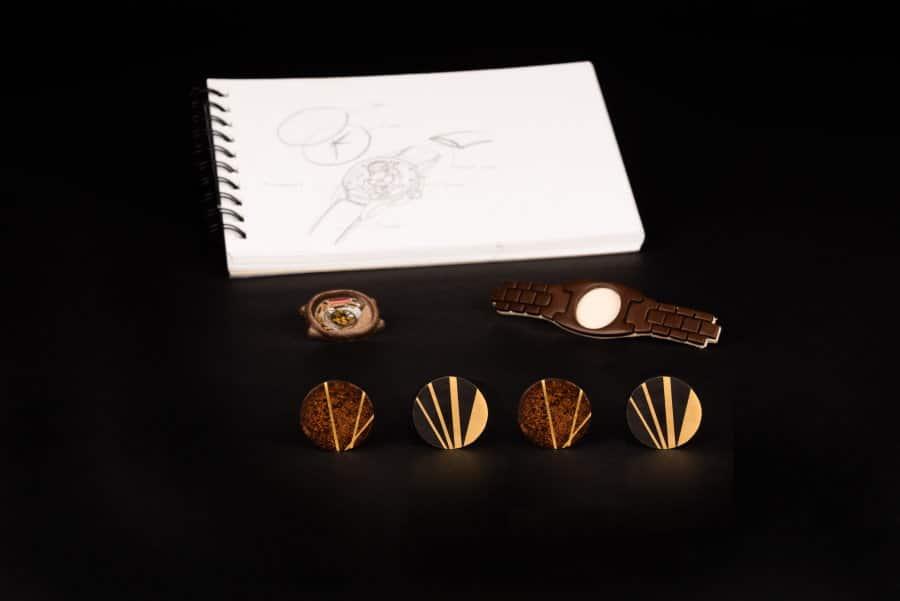 Cadrans dorés Authentic Materiel et Daumet