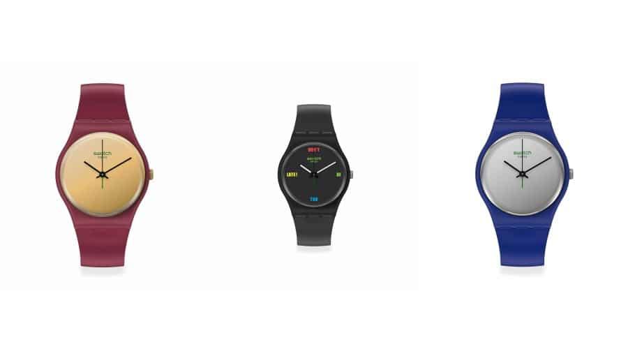 Montres Swatch biosourcées