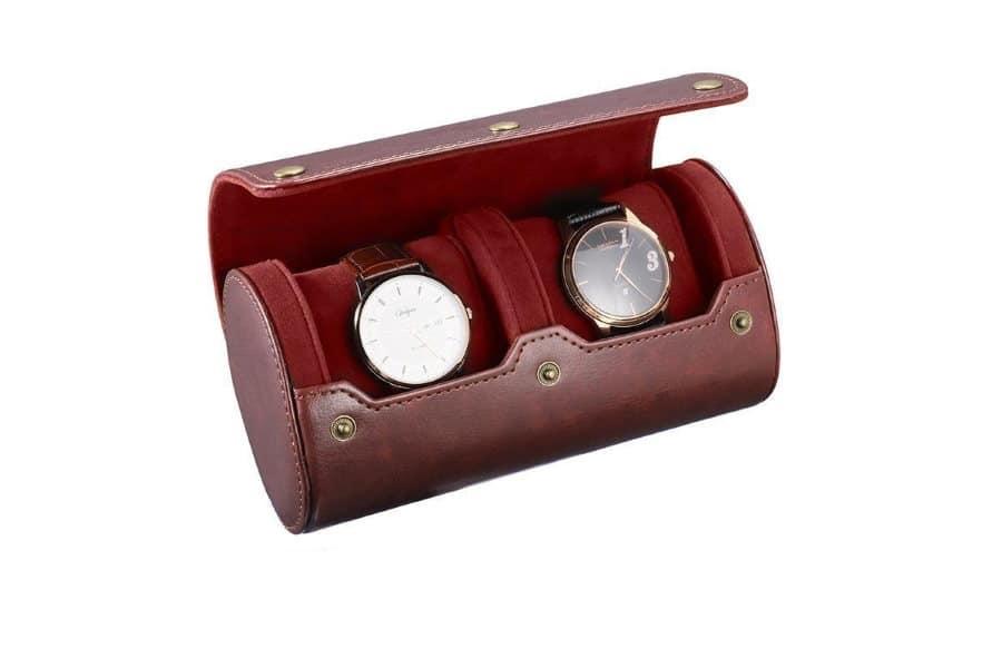 Boîtes et étuis de voyage montres
